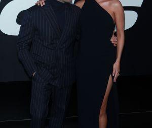 Jason Statham et Rosie Huntington-Whiteley à l'avant-première de Fast and Furious 8 le 8 avril à New York