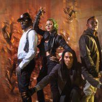 Fergie des Blacks Eyed Peas... chute sur scène en plein concert !