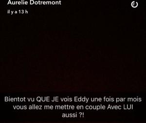 Aurélie Dotremont en couple avec Nikola Lozina ? Elle met les choses au clair sur Snapchat