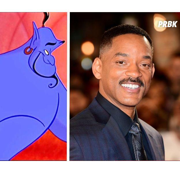 Aladdin : Will Smith nouveau génie dans le film live ?