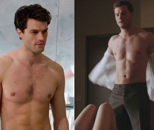 Jamie Dornan dans Fifty Shades of Grey VS Fifty Shades Darker