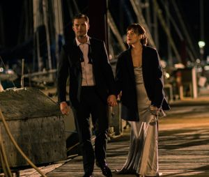 Fifty Shades Darker : Jamie Dornan et Dakota Johnson sur une photo du film