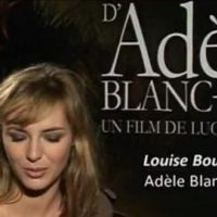 Les aventures extraordinaires d'Adèle Blanc Sec ... l'affiche officielle !