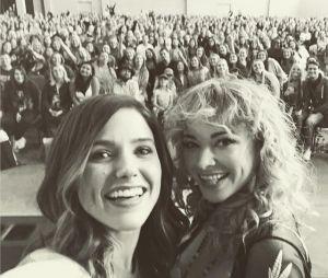 Les Frères Scott : Ashley Rickards et Sophia Bush réunies à Wilmongton pour une convention en mai 2017