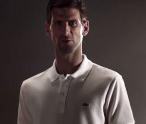 Novak Djokovic devient ambassadeur de Lacoste !