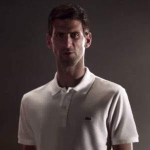 Novak Djokovic devient ambassadeur pour Lacoste 🐊