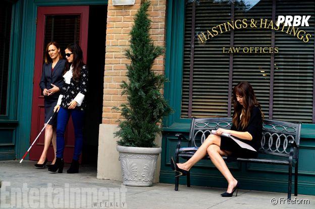 Pretty Little Liars saison 7 : Spencer et Jenna dans le dernier épisode