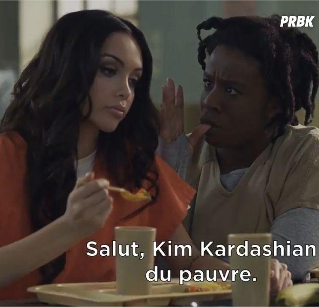 Orange is the new black : Nabilla Benattia dévoile sa scène et c'est délirant
