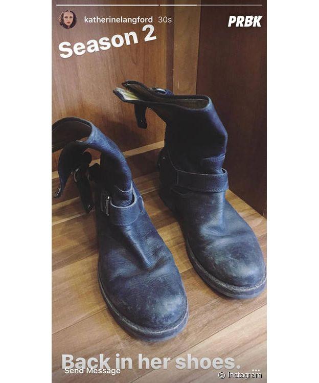 Katherine Langford annonce le tournage de la saison 2 de 13 Reasons Why