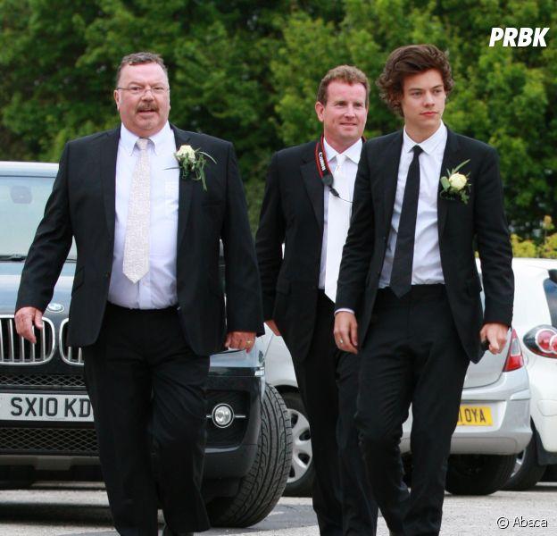 Harry Styles et son beau-père Robin (à gauche), décédé des suites d'un cancer