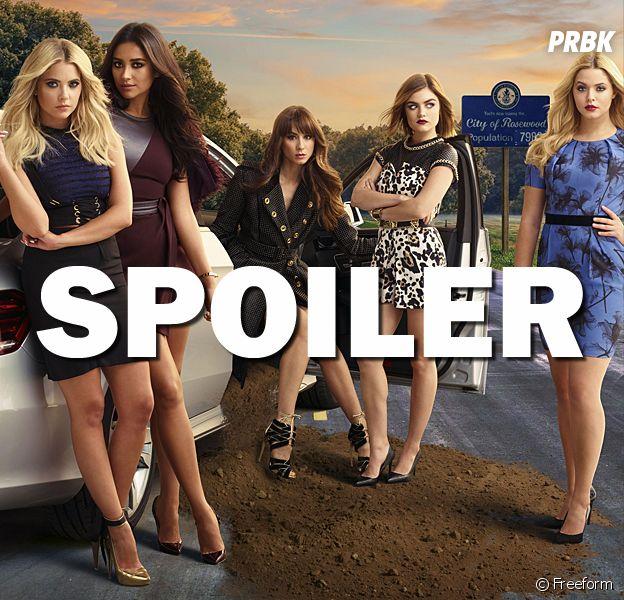 Pretty Little Liars saison 7 : Shay Mitchell a spoilé la fin de la série sur Snapchat