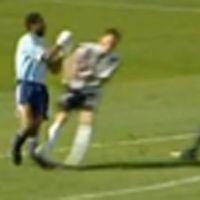 Foot ... La vidéo d'un sacrilège commis contre un gardien allemand