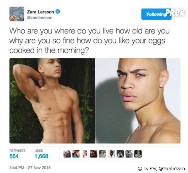 Zara Larsson : le message Twitter grâce auquel elle a recontré son petit ami Brian H Whittaker