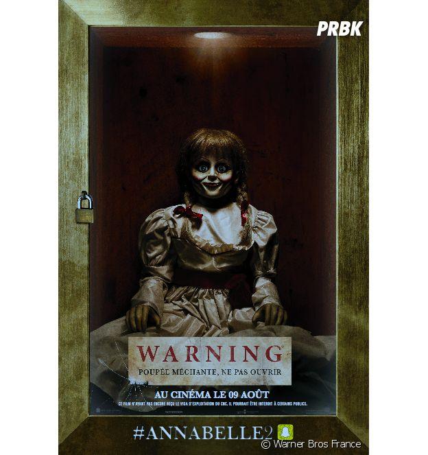 Affiche d'Annabelle 2 : La Création du Mal.