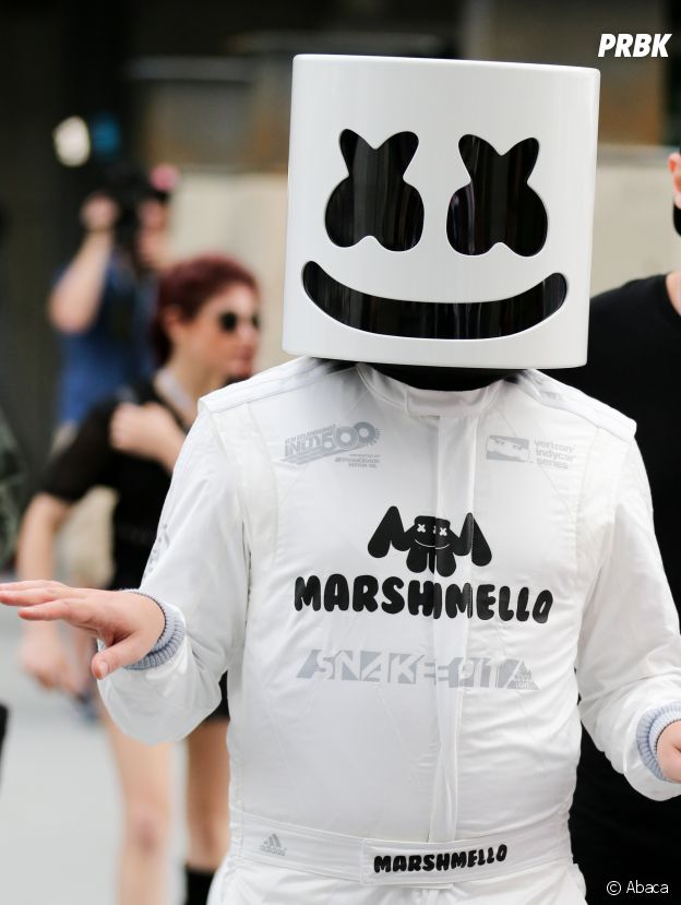 Marshmello arrive en 8ème position du classement Forbes