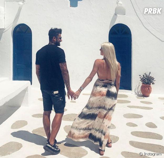 Jessica Thivenin et Thibault Kuro amoureux en vacances à Mykonos