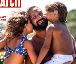 Cyril Hanouna pose avec ses enfants Bianca et Lino et se confient sur sa vie de famille !