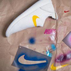 Nike Gakou Flyknit : la sneaker à custom avec ses pochoirs en mode DIY
