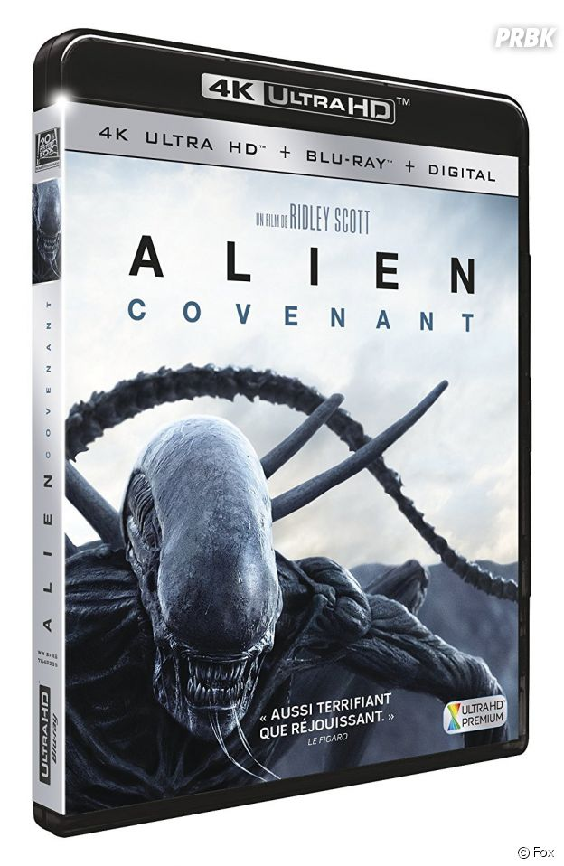 Alien Covenant en DVD et Blu-Ray 4K