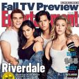 Riverdale saison 2 : les acteurs font la couverture de Entertainment Weekly