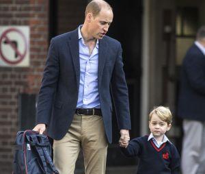 Le Prince William inquiet ? Une femme a été arrêtée par la police après être entrée par effraction dans l'école du Prince George.