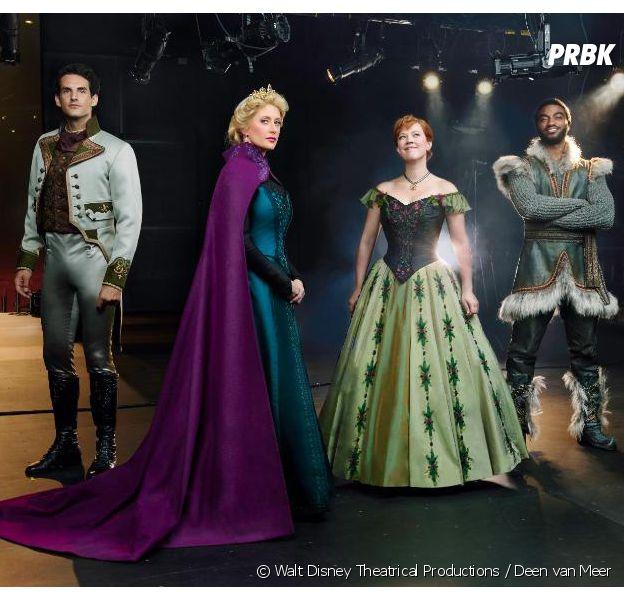 La Reine des Neiges : premières images impressionnantes de la comédie musicale