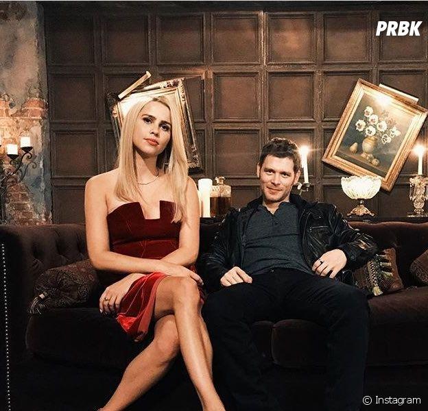 The Originals saison 5 : Claire Holt retrouve Joseph Morgan sur le tournage