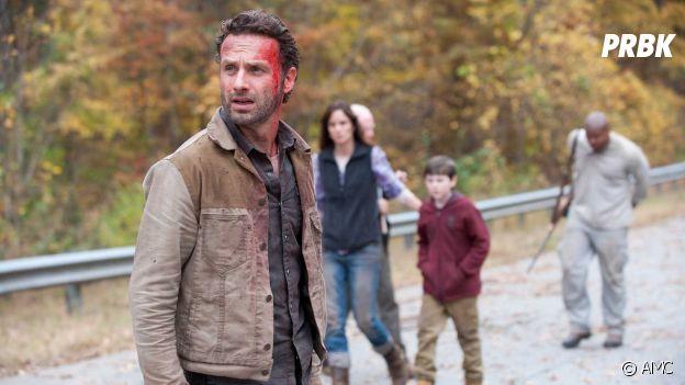 The Walking Dead : Rick dans la saison 2
