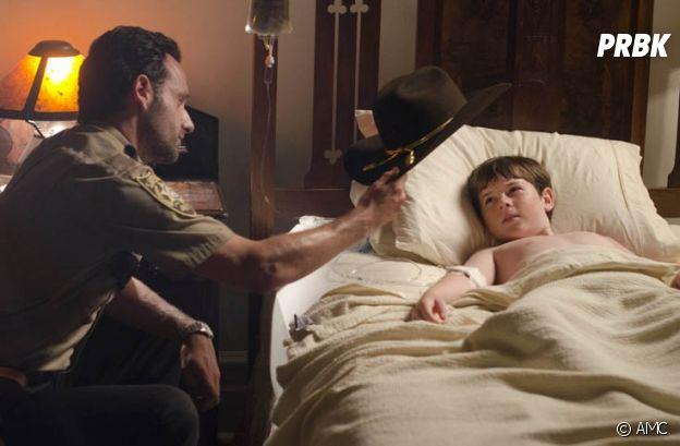 The Walking Dead : Carl dans la saison 2