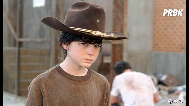 The Walking Dead : Carl dans la saison 3