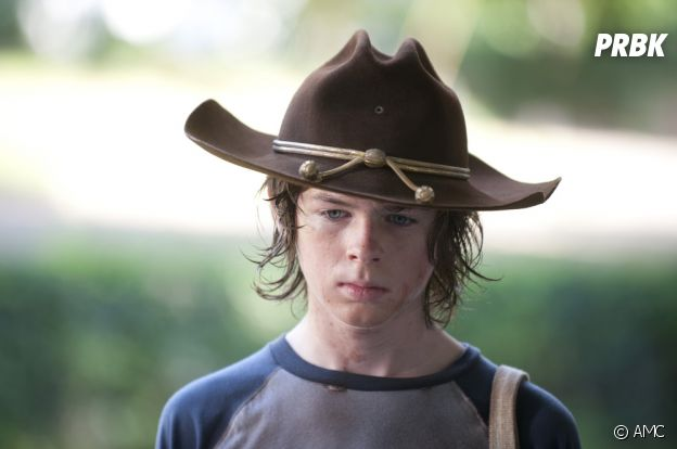 The Walking Dead : Carl dans la saison 4