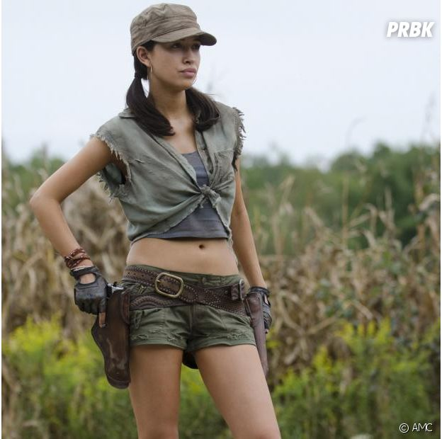 The Walking Dead : Rosita dans la saison 4