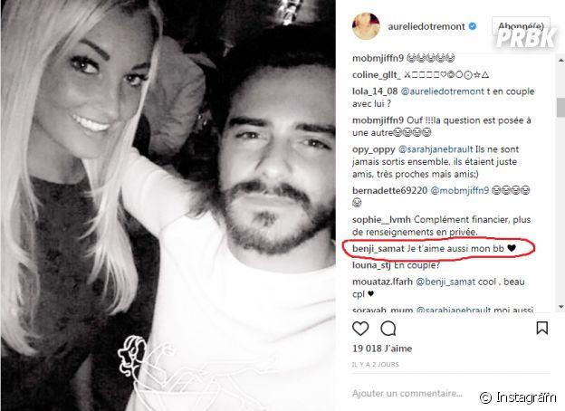 Aurélie Dotremont officialise son couple avec Benjamin Samat ?