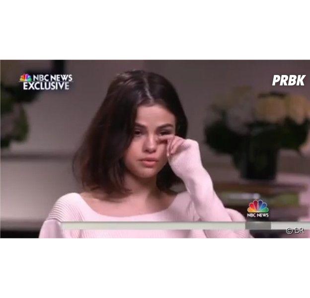 Selena Gomez en larmes pour évoquer sa greffe de rein avec Francia Raisa