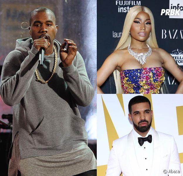 Kanye West, Nicki Minaj, Drake... le top 10 des rappeurs les plus égocentriques