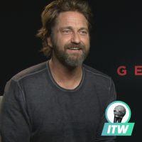 """Gerard Butler en interview pour Geostorm : """"Je n'aurais jamais pu être scientifique dans la vie"""""""