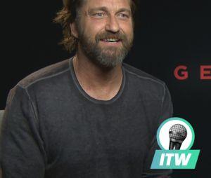 Gerard Butler en interview pour PureBreak pour la sortie de Geostorm