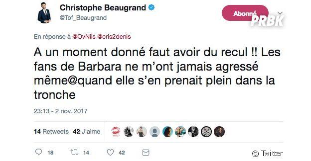 Christophe Beaugrand (Secret Story 11) menacé de mort par les fans de Noré et Kamila