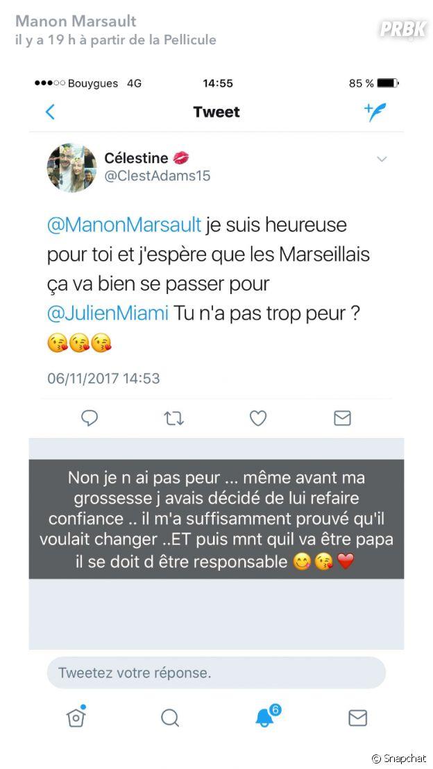 Manon Marsault inquiète que Julien Tanti soit encore infidèle ?