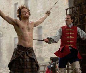 Sam Heughan (Outlander saison 3) : il doit passer 5h par la case maquillage pour les cicatrices de Jamie !