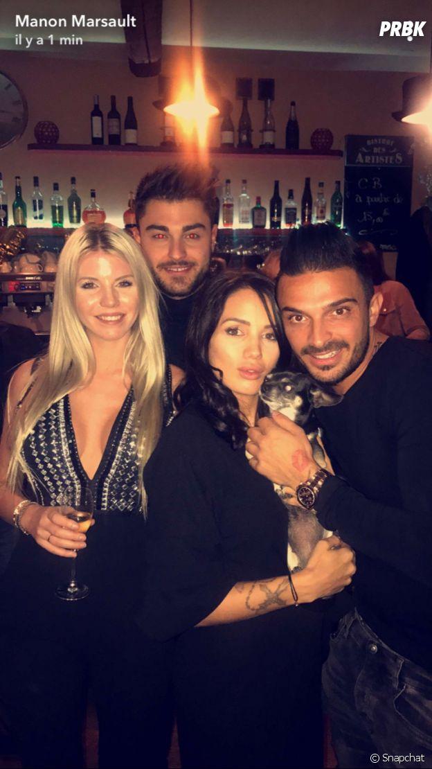 Jessica Thivenin fête son anniversaire avec Thibault Kuro, Manon Marsault et Julien Tanti