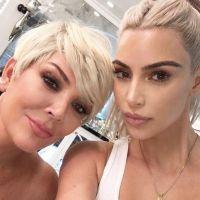 Kris Jenner copie Kim Kardashian : méconnaissable, elle devient blonde comme sa fille