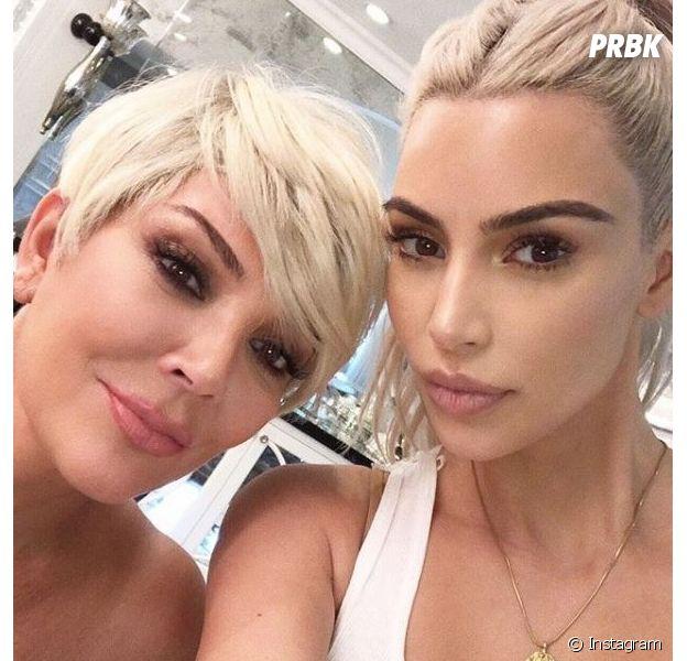 Kris Jenner copie Kim Kardashian : mère et fille sont maintenant blondes et se ressemblent comme deux gouttes d'eau !