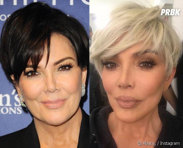 Kris Jenner copie Kim Kardashian : elle passe au blond, mère et fille se ressemblent maintenant comme deux gouttes d'eau !