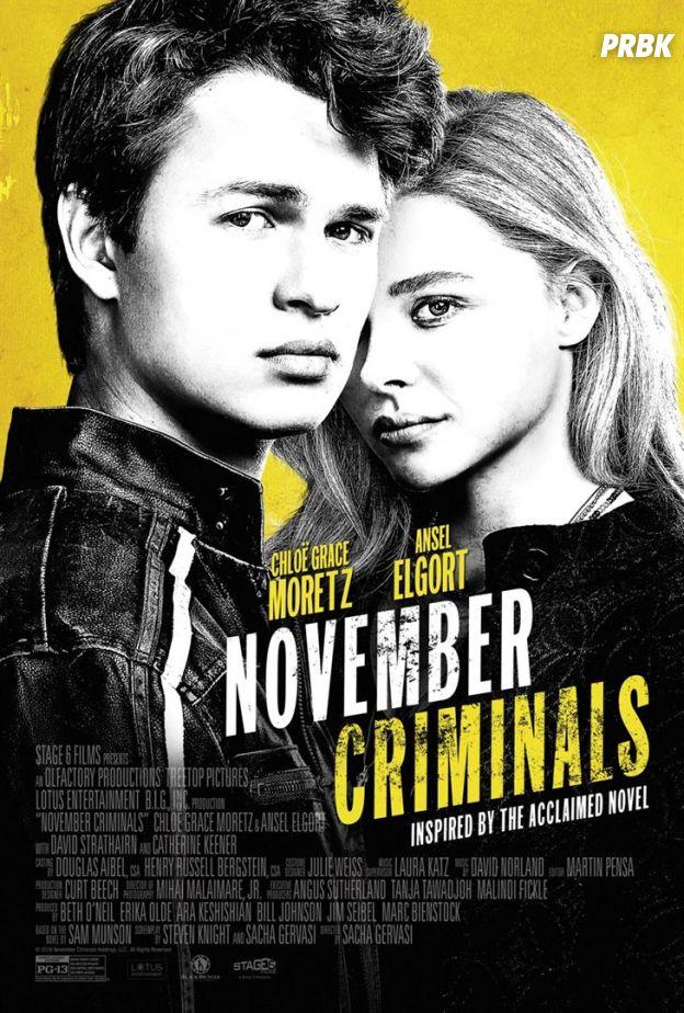 November Criminals : Chloë Grace Moretz et Ansel Elgort mènent l'enquête dans un thriller prenant