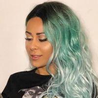 Shanna Kress (Les Anges 10) ose la métamorphose turquoise