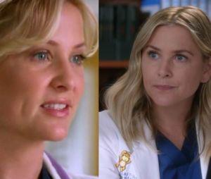 Arizona (Jessica Capshaw) lors de sa première apparition dans Grey's Anatomy VS aujourd'hui