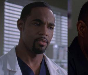 Jason George (Ben) lors de sa première apparition dans Grey's Anatomy VS aujourd'hui
