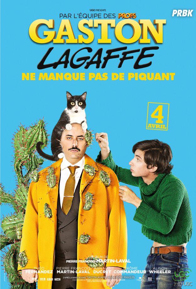 Gaston Lagaffe : nouvel hommage à la BD à travers les affiches du film