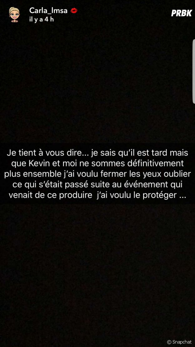 Carla Moreau (Les Marseillais) annonce sa rupture avec Kevin Guedj et confirme ses infidélités